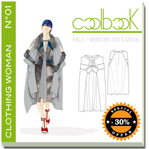 Copertina book clothing woman fall winter 2015/16