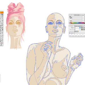 selezione fashion sketck - woman