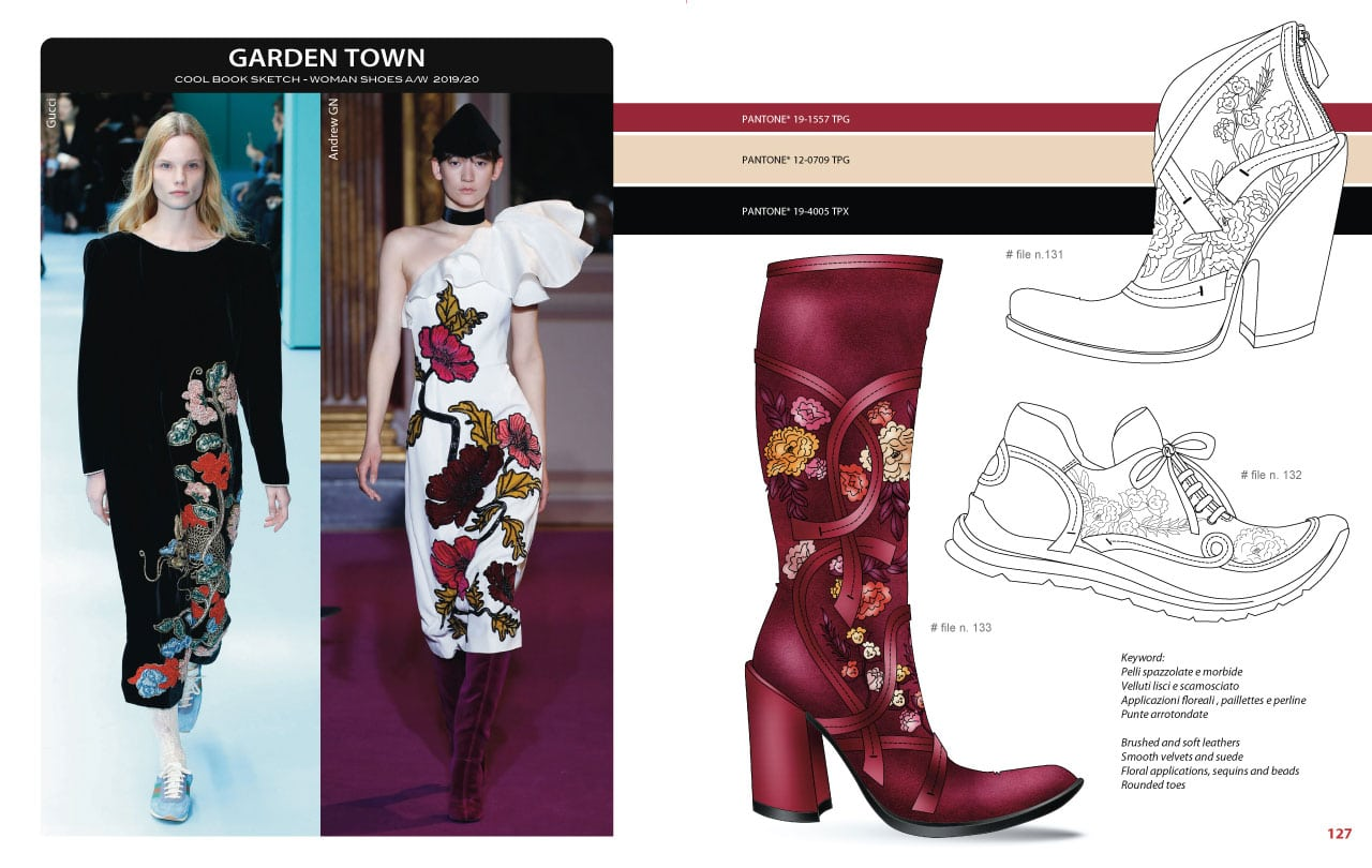 Mood Board - CoolBook Sketch Woman Shoes A/W 2019/20 - Bag Trend Book
