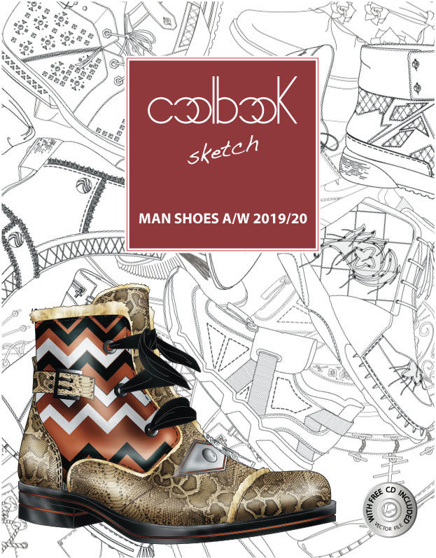 Cool Book Sketch Trend Book Man Shoes A/W 2019/20 Tendenze Moda