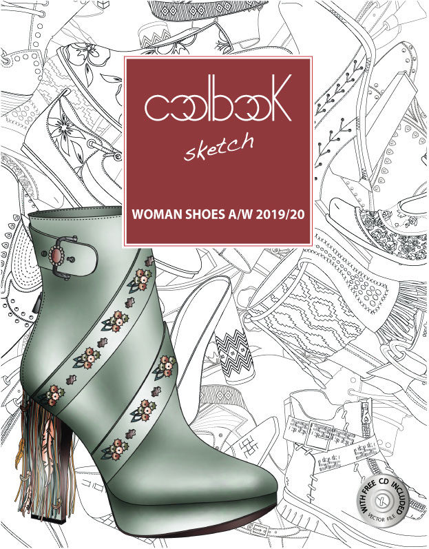 Cool Book Sketch Trend Book Woman Shoes A/W 2029/20