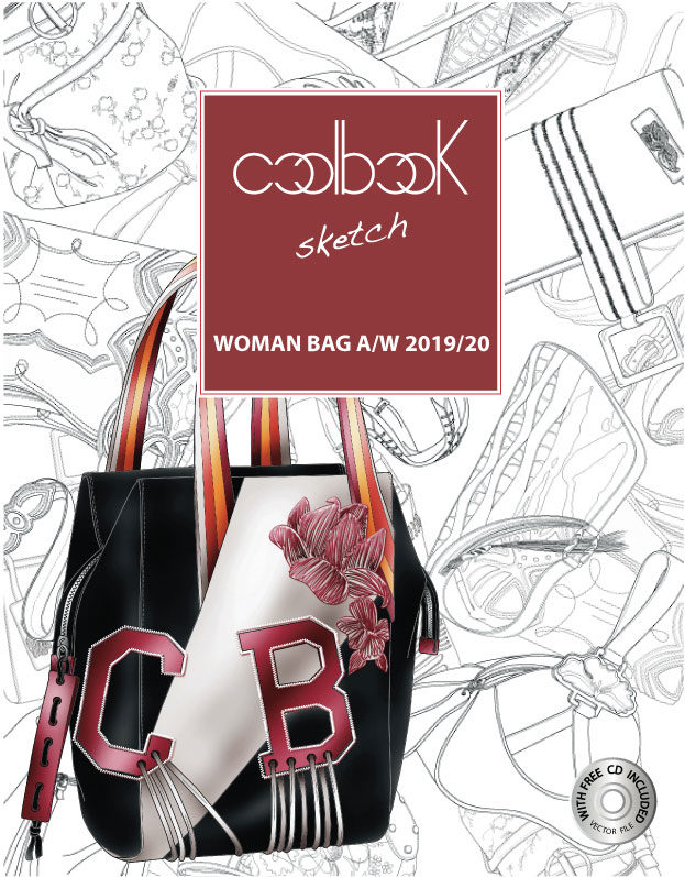 CoolBook Sketch Trend Book Woman bags A/W 2019/20 - Tendenze Moda